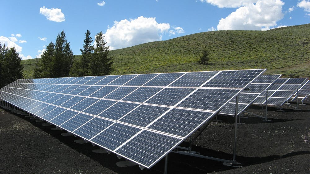 Solar panel financing projects