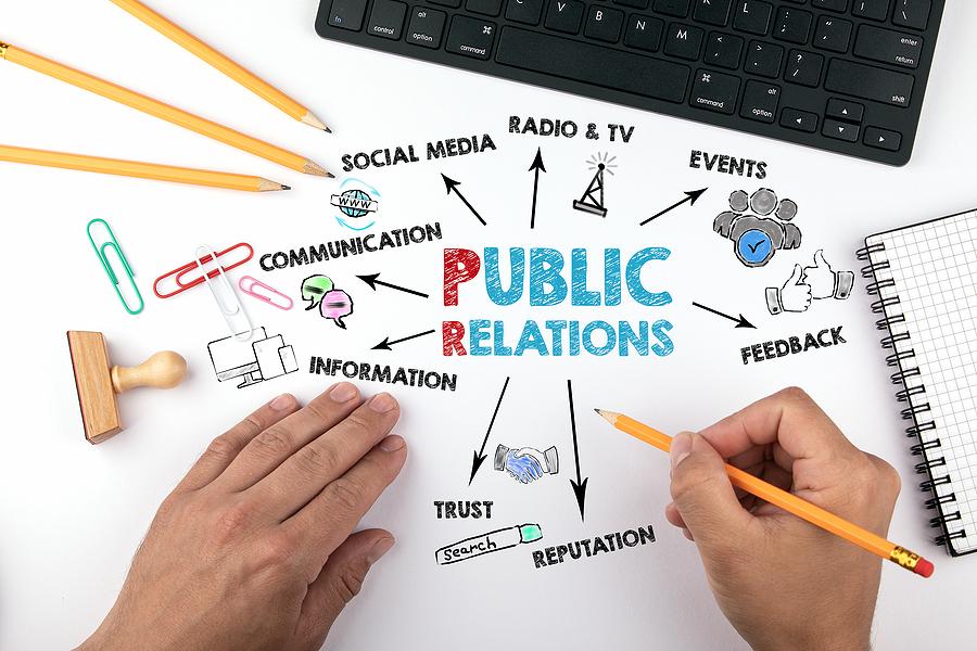 Public Relations Concept.